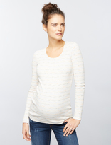 A Pea in the Pod Luxe Essentials Rib Knit Maternity Top