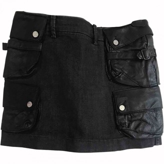 Acne Studios Anthracite Denim - Jeans Skirt for Women