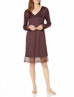 Hanro Women's Estelle Long Sleeve Gown