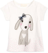 First Impressions Dog-Print Cotton T-Shirt, Baby Girls (0-24 months), Created for Macy's