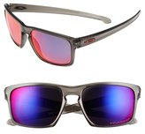 Oakley Men's 'Silver' 57Mm Polarized Sunglasses - Grey