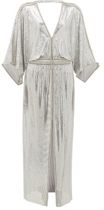 Paco Rabanne Crystal-embellished Chainmail Gown - Silver
