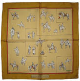 One Kings Lane Vintage Hermès Voyage au Niger Pochette Scarf