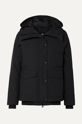 Canada Goose Deep Cove Shell Down Jacket - Black