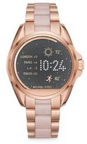Michael Kors Access Bradshaw Rose Goldtone Stainless Steel Touchscreen Smartwatch