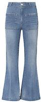 Amo Sailor Crop Flare Jeans