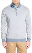 Peter Millar Cashmere Blend Quarter Zip Sweater