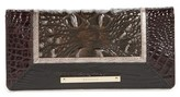 Brahmin Women's Ady Leather Continental Wallet - Black