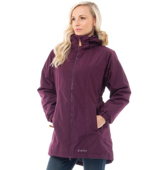 Trespass Womens Celebrity Insulated Waterproof Parka Jacket Potent Purple