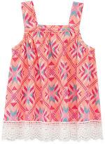Arizona Azg Crochet Tank Tank Top - Baby Girls