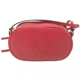 RED Valentino VALENTINO Red leather crossbody bag