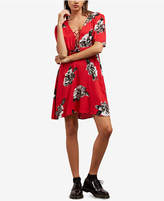 Volcom Juniors' April March Printed Lace-Up Dress