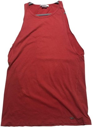 Pierre Balmain Red Cotton Top for Women