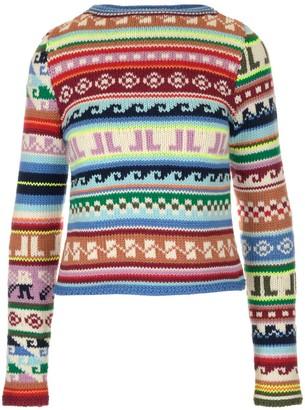 Lanvin Intarsia Pattern Sweater