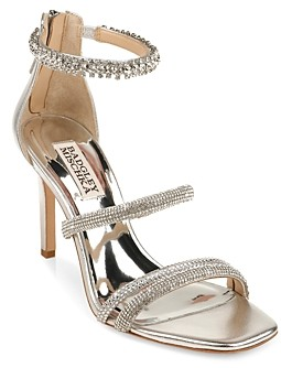 Badgley Mischka Women's Zulema Strappy High Heel Sandals