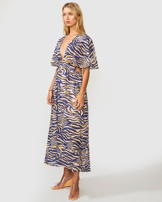 SUBOO Into The Wilds Cape Dress