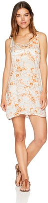 Maaji Women's Get Real Short Floral Print Cover up Dress