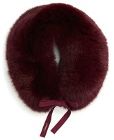 Burberry Women's Genuine Fox Fur Collar