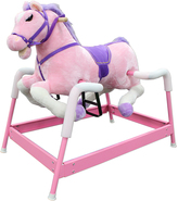 Pink Spring Horse With Sound