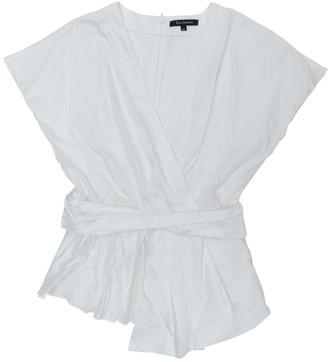 Tara Jarmon White Cotton Tops