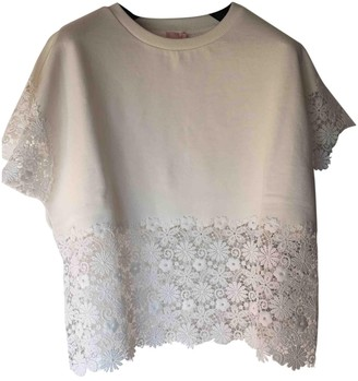 Giambattista Valli White Cotton Top for Women
