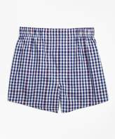 Brooks Brothers Gingham Boxers