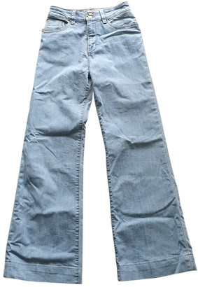 Barbara Bui Blue Cotton Jeans for Women