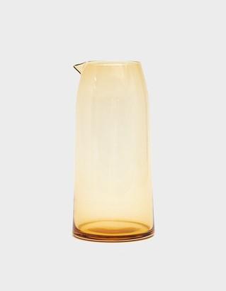 Hawkins New York Chroma Glass Pitcher in Amber