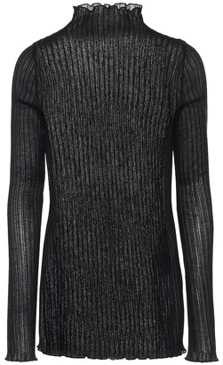 Jil Sander Ribbed-knit top