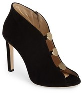 Women's Jimmy Choo Lorna Button Open-Toe Bootie