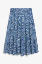 Thumbnail for your product : Monki Layered midi skirt