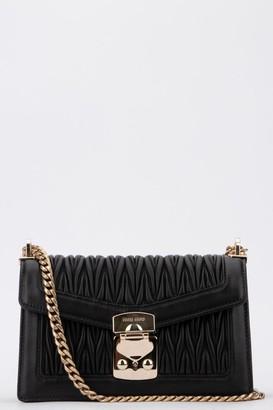 Miu Miu Matelasse Chain Strap Shoulder Bag