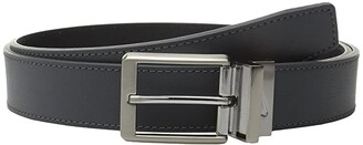 Nike Core Reversible Belt (Black/Brown) Men's Belts