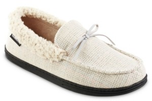 Isotoner Signature Men's Tanner Moccasin Slippers