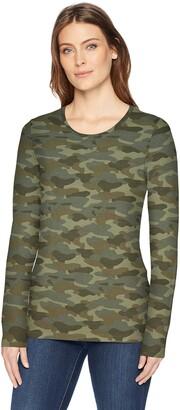 Amazon Essentials Women's Classic-Fit Long-Sleeve T-Shirt