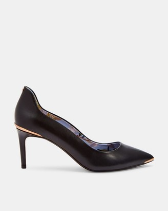 Ted Baker Back Detail Low Heel Courts