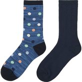 Uniqlo Girls Regular Socks 2p