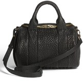 Alexander Wang 'Rockie - Antique Brass' Leather Crossbody Satchel