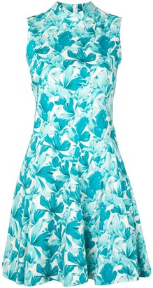 Flared Orchid Dress