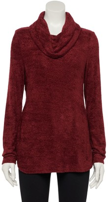 Croft & Barrow Women's Cozy Cowlneck Sweater