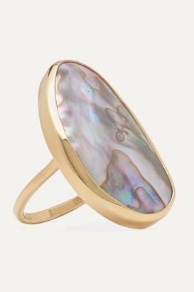 Melissa Joy Manning 14-karat Gold Shell Ring - 6