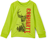 Carhartt Heather Sour Apple Deer Force Tee - Boys