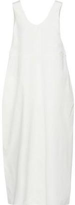 Jil Sander Cotton And Silk-blend Maxi Dress