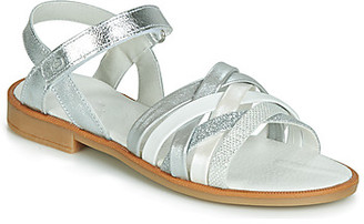 Citrouille et Compagnie JARILOU girls's Sandals in Silver
