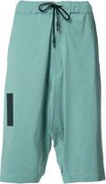 Y-3 knee-length shorts - women - Cotton - M