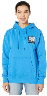 The North Face Patch Ideals Pullover Hoodie (Burnt Olive Green) Women's Clothing