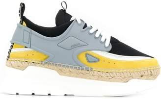Kenzo K-lastic platform sneakers