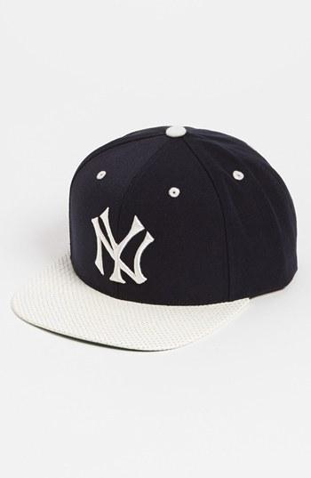 The Natural American Needle 'New York Yankees - The Natural' Snapback Baseball Cap
