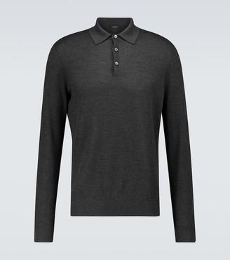 Ermenegildo Zegna Cashmere and silk polo shirt