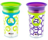 Sassy 9oz Tritan Cup with strap 2pk